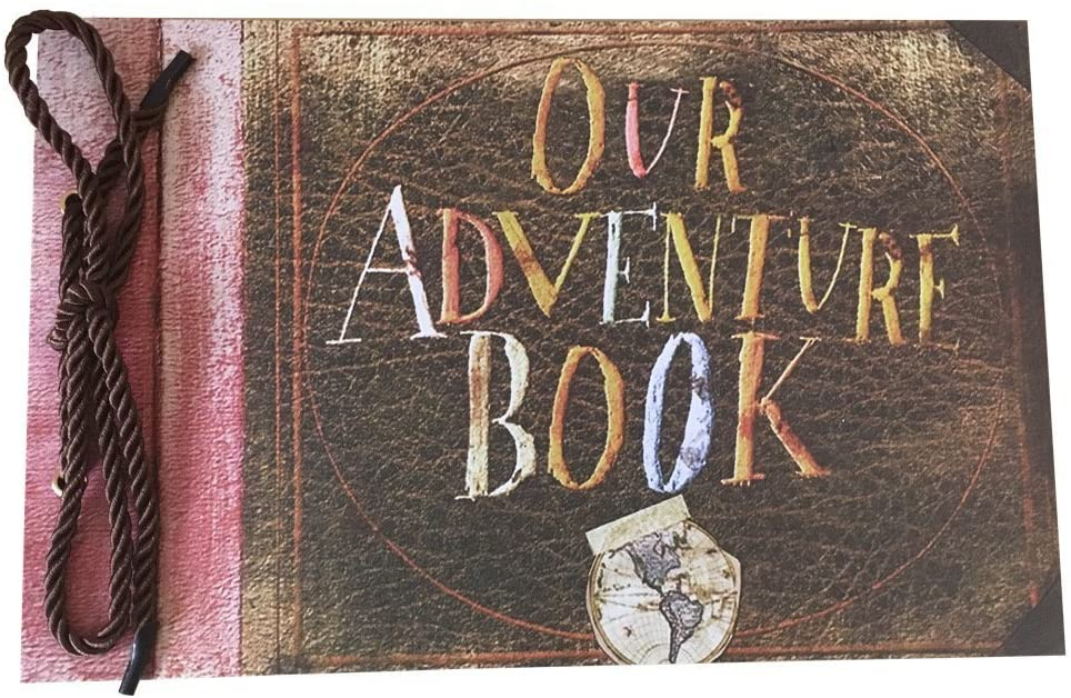 long distance relationship valentines day gift: our adventure book
