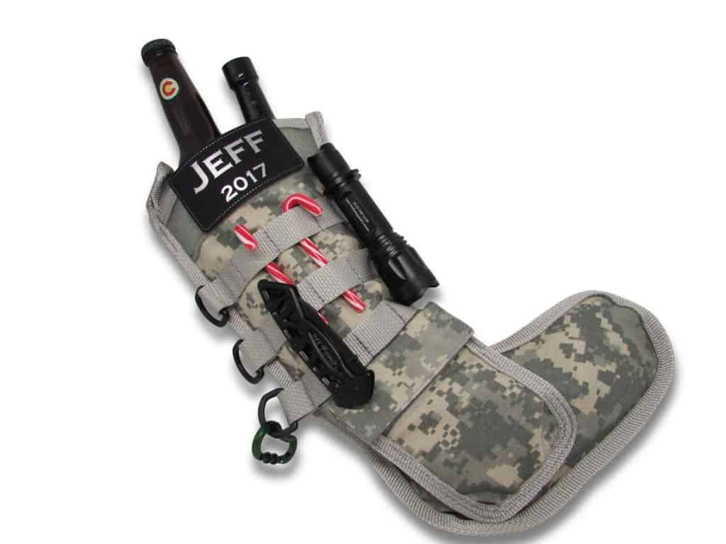 good gifts for hunters: personalized tactical stocking