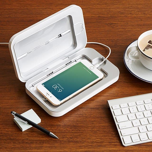 gifts for the woman who has everything: phonesoap phone sanitizer