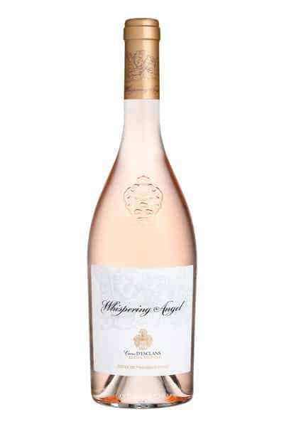 gift for wine lovers: rose wine bottle