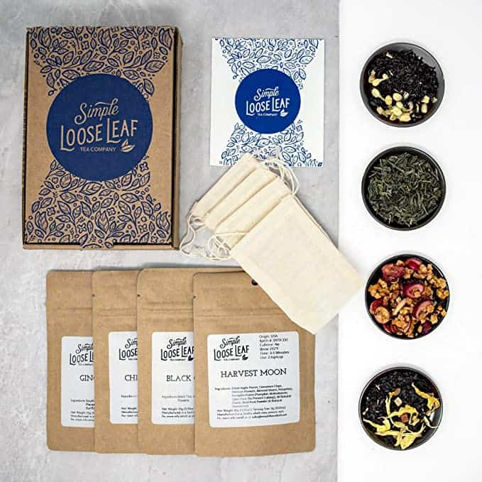 gifts for tea lovers: Simple Loose Leaf Tea Subscription Box