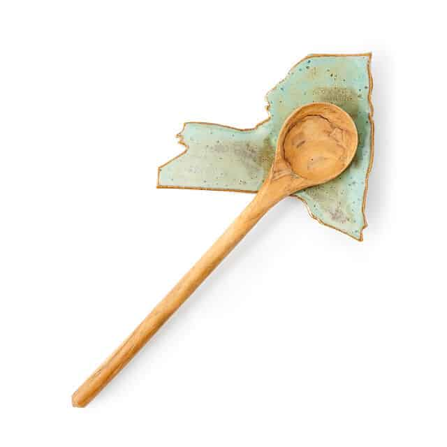 unique cooking gifts: state spoon rest