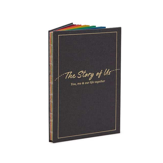 anniversary gifts for wife: the story of us journal