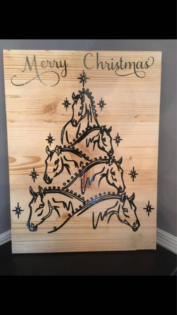 Wall art - Gifts for horse riders