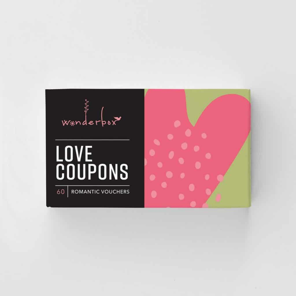 1 Year Anniversary Gift for Him Boyfriend romantic love coupon