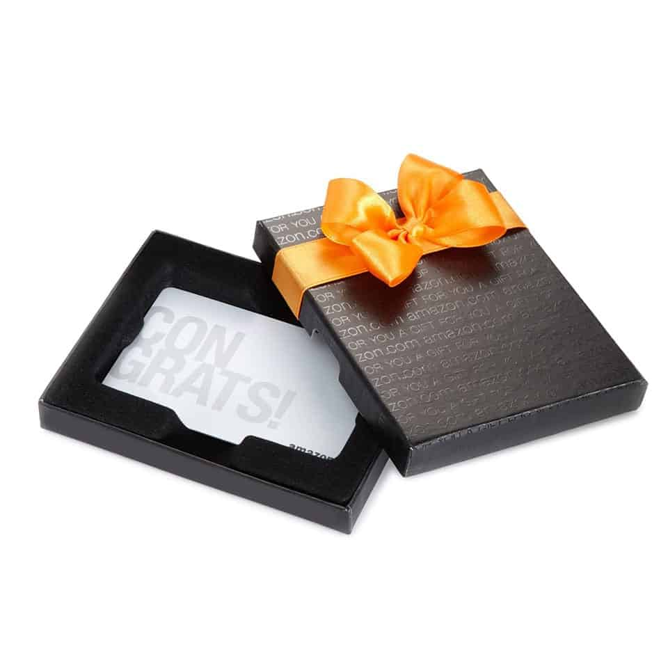 Amazon.com Gift Card - school graduation gift ideas for sister