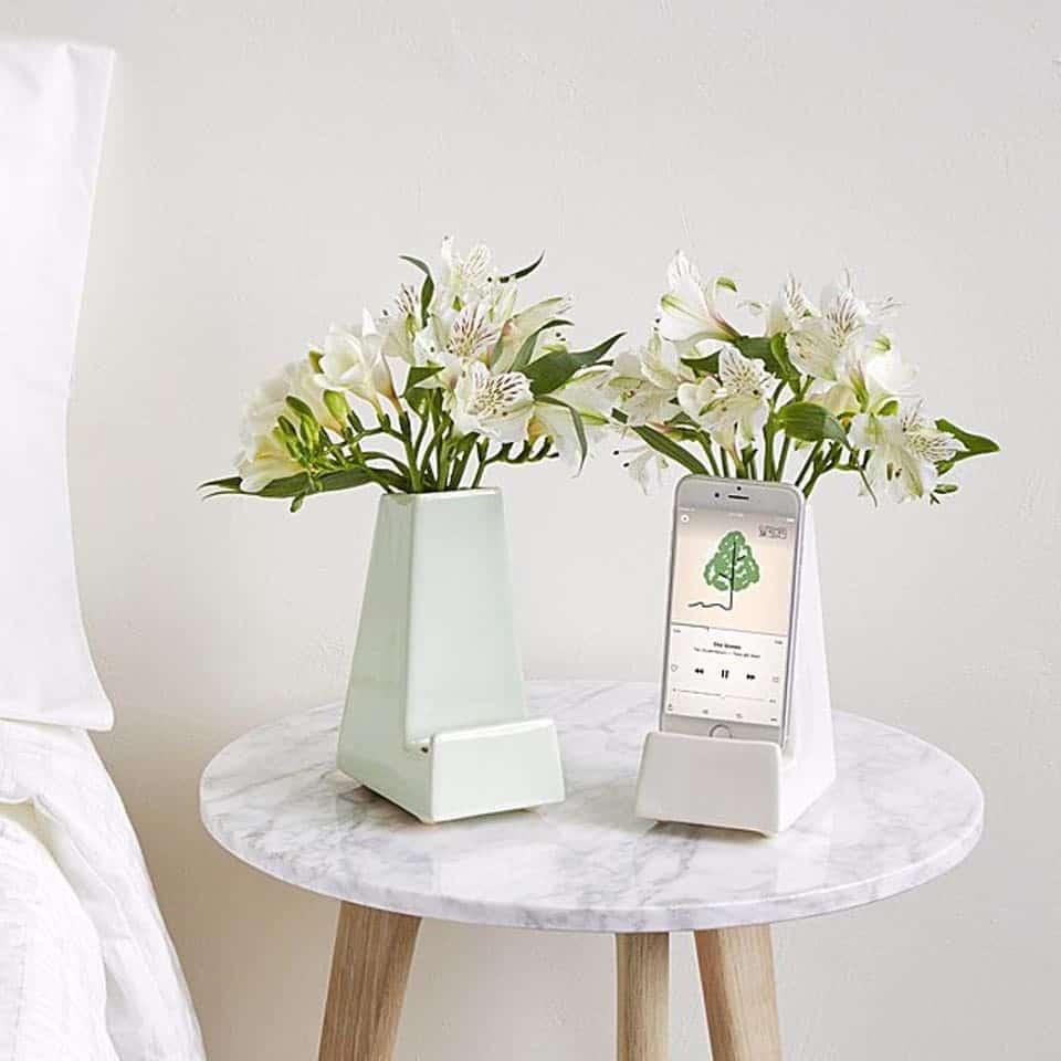 Bedside Smartphone Vase - valentine's day gifts