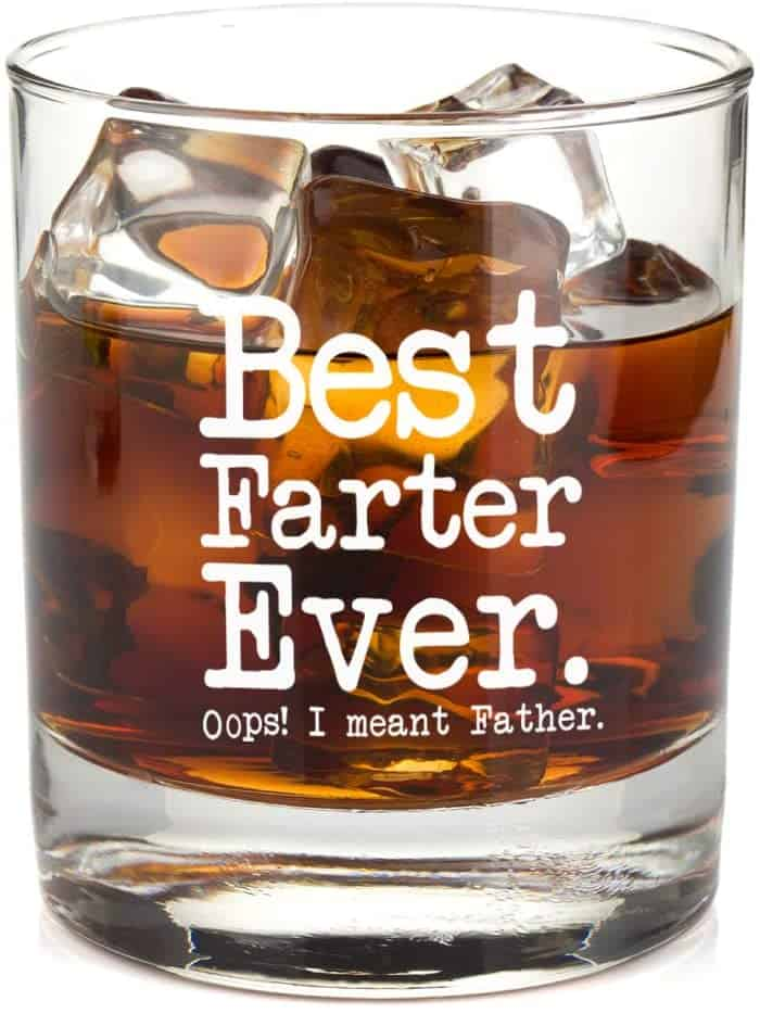 Best Farter Ever Oops I Meant Father - Best Dad Unique Gag Gift for Him from Daughter