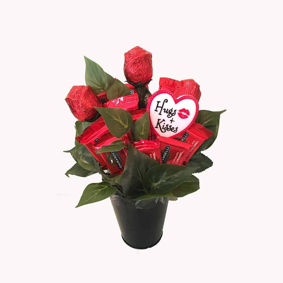Chocolate Bouquet - valentine day gift guide