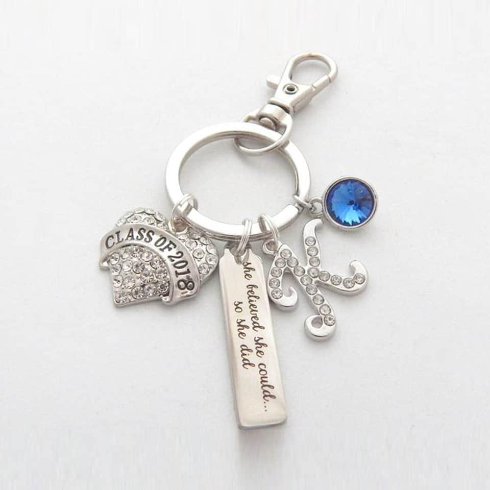 Graduation Keychain - ideas for graduation gift