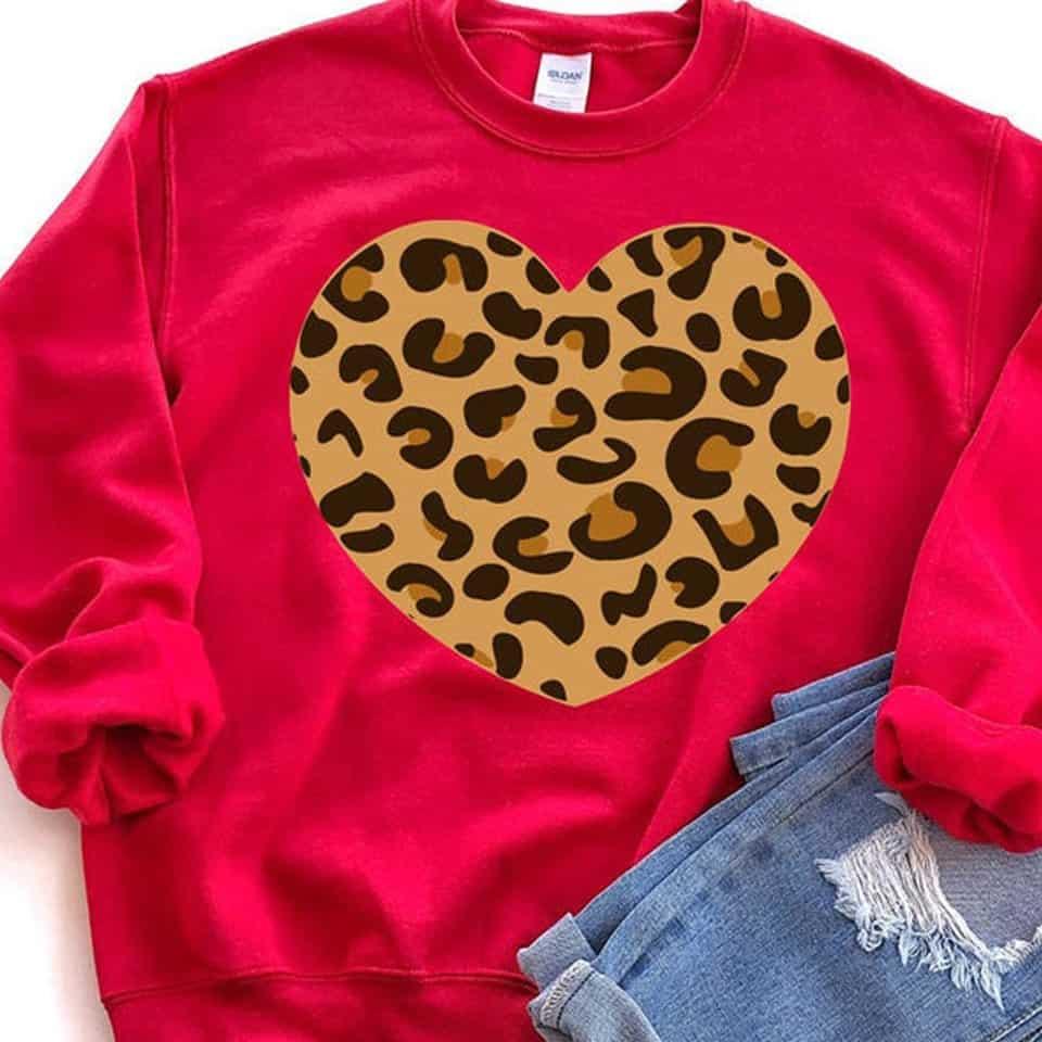 Heart Sweatshirt - valentines day surprises
