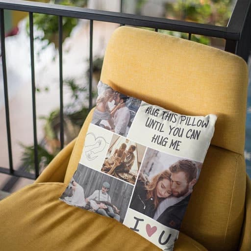 Hug This Pillow Until You Can Hug Me Pillow - cheap valentines day gift