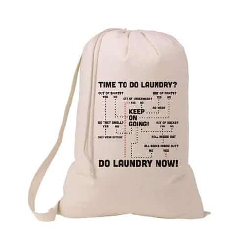 Humorous Laundry Bag - gifts for graduates