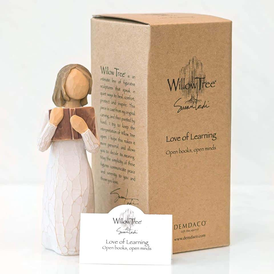 Love of Learning Figure - girl's graduation gift ideas