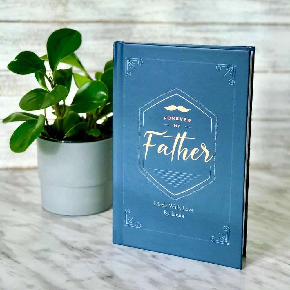 Memory Book For Dad - Forever My Father