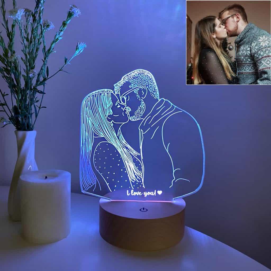 Personalized Custom Photo Desk Led Lamp