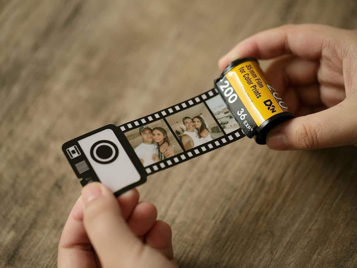 Personalized Film Roll Keychain,Personalized Photo Album