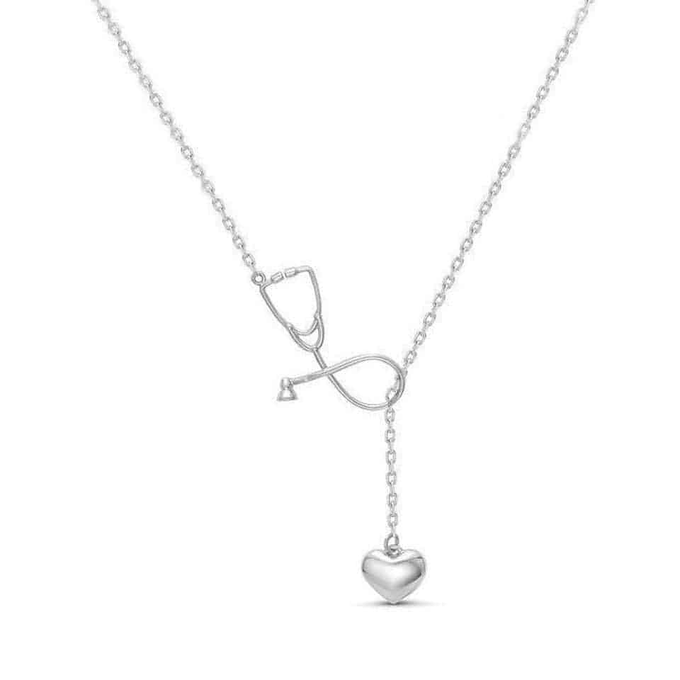 Stethoscope Necklace - medical school graduation gifts