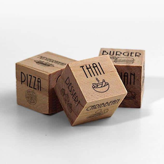 Takeout Dice Food Delivery Ideas Valentine's Day Gifts For Him