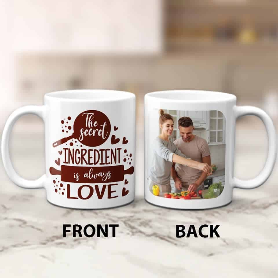 The Secret Ingredient is Always Love Mug