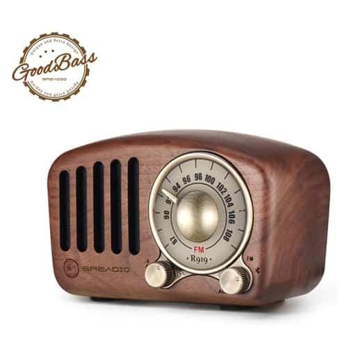 Vintage Bluetooth Speaker - affordable valentines gift ideas for guys
