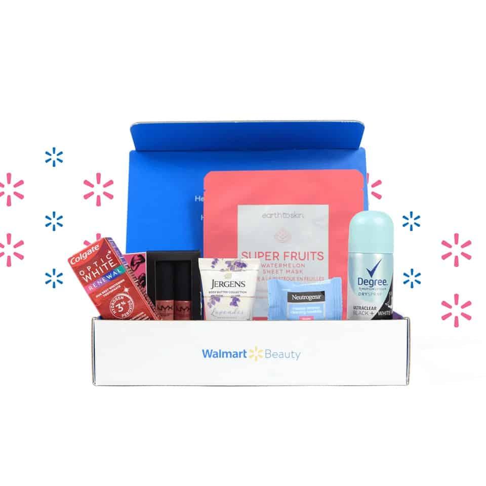 Walmart Beauty Box - valentines day presents