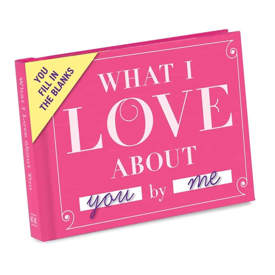 What I Love About You Love Book - valentines day presents