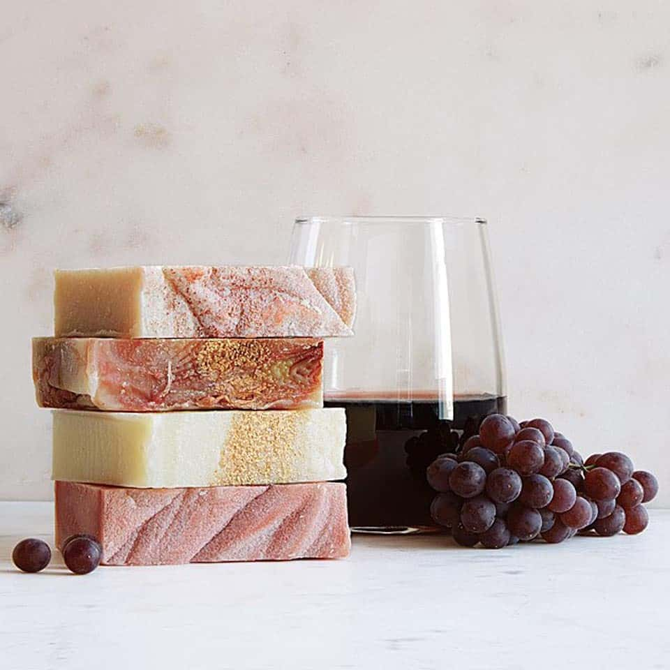 Wine Soaps - things to get your woman for valentines day