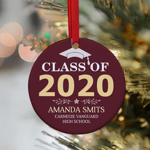 Year Graduation Ornament - gifts for high school graduates