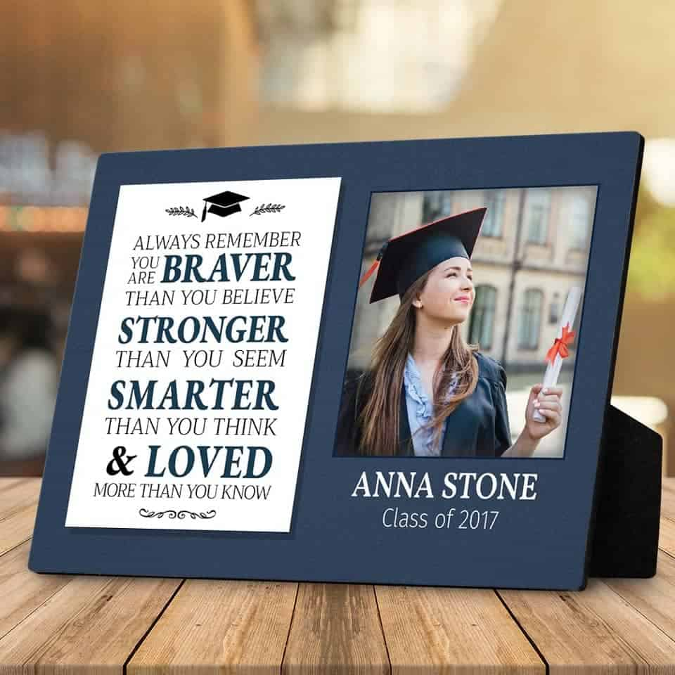 You Are Braver Than You Believe - graduation gifts for her