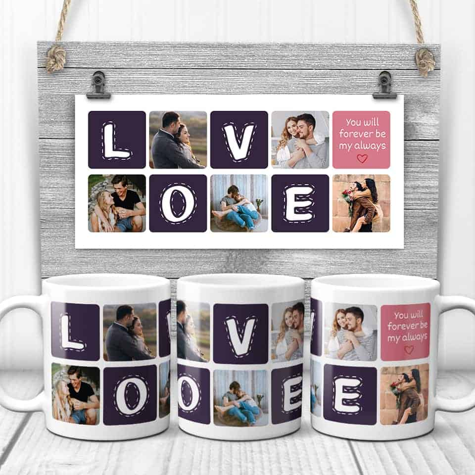 You Will Forever Be My Always Mug - things to get your woman for valentines day