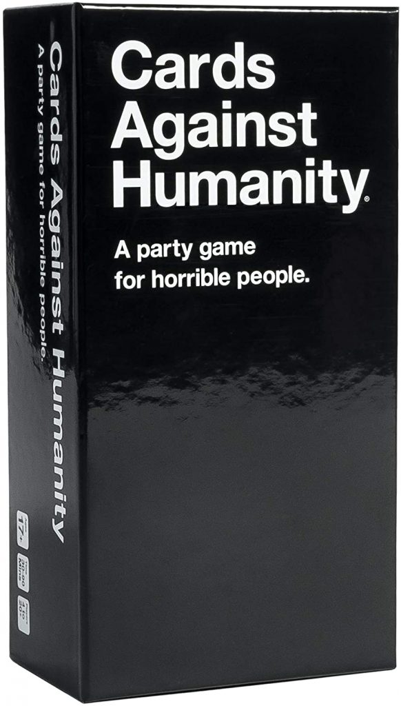 funny dad gift: card against humanity