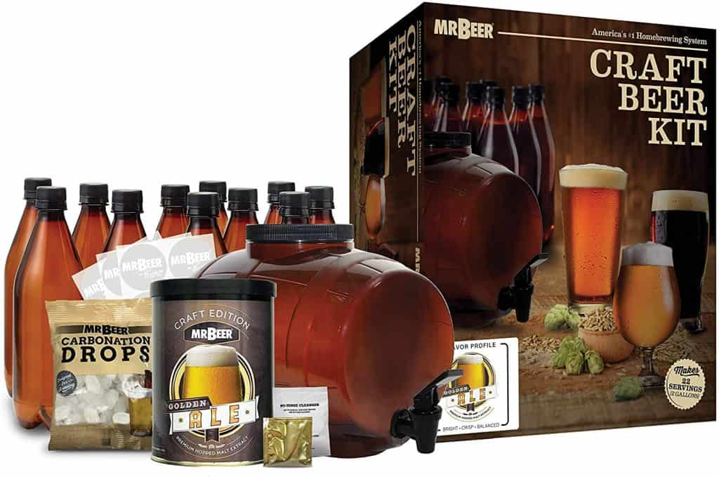 beer gifts for dad: craft beer kit