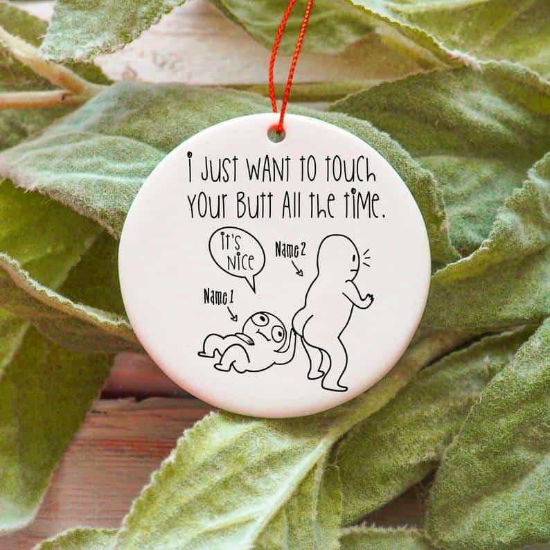 funny valentines day gifts: funny ornament