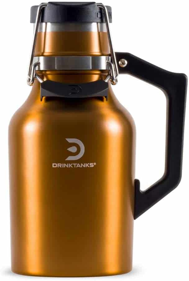 gifts for beer lovers: insulated beer growler