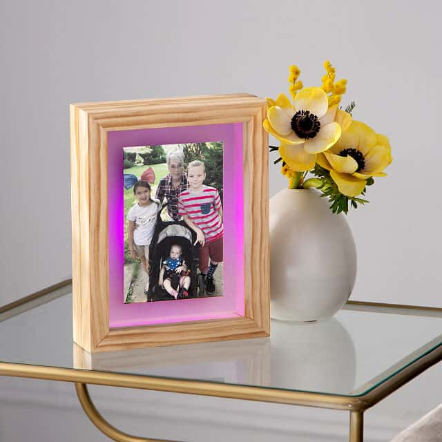 valentines gifts for dads: long distance friendship frame