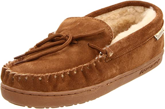 dad gift ideas: men's moc slippers