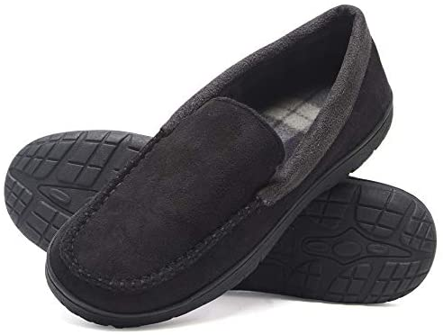 gifts for him: men's moccasin slippers