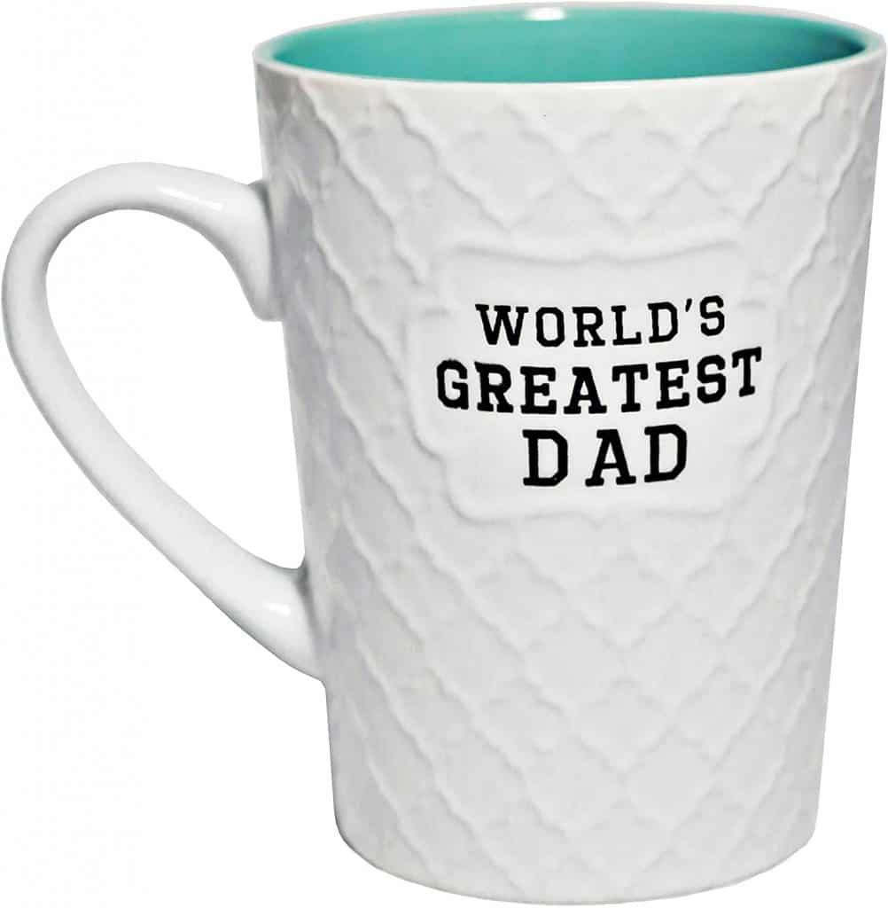 valentine gift for daddy: world's greatest dad mug