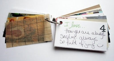 simple mothers day gifts: 10 things i love about you mini book