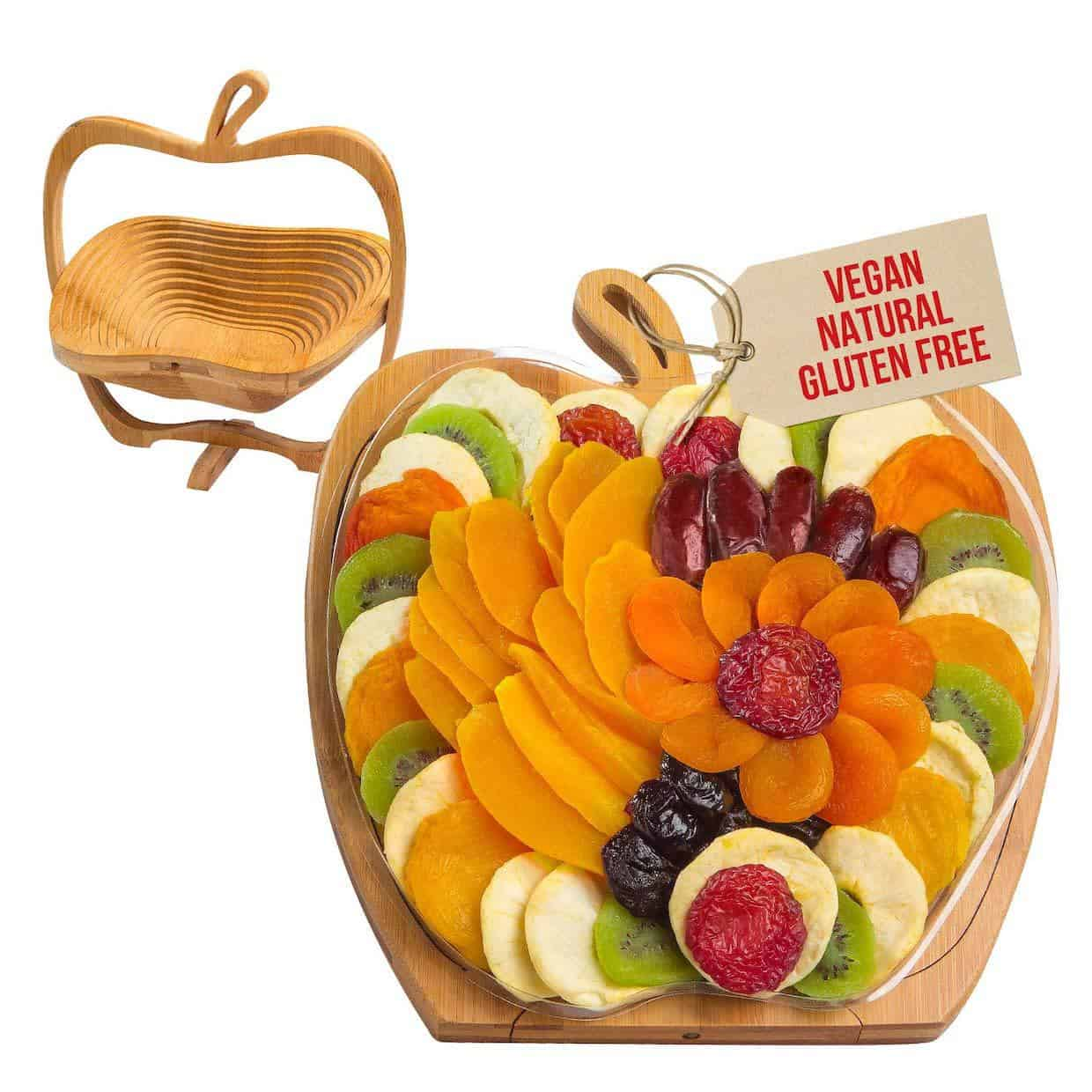 Dried Fruit Gift Basket Gift for Wife on Mother's Day