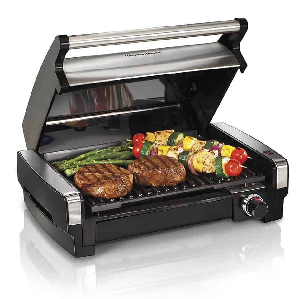 Electric Indoor Searing Grill - gifts for a guy you just started dating
