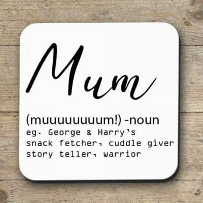 unusual mothers day gifts - Funny Mum Definition Coaster