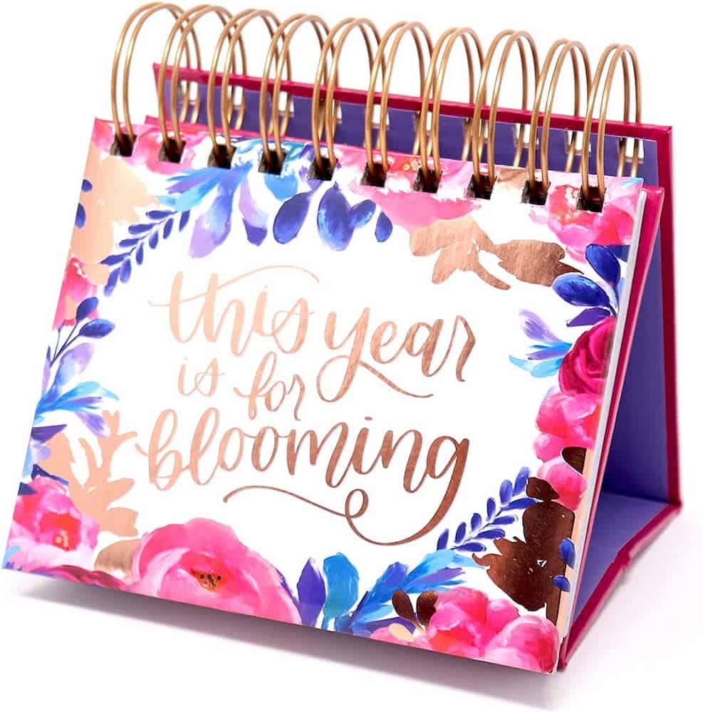 Inspirational Standing Flip Calendar