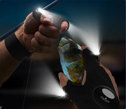 LED flashlight gloves men gifts