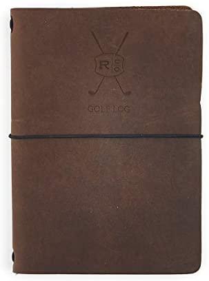 Leather Golf Log Book