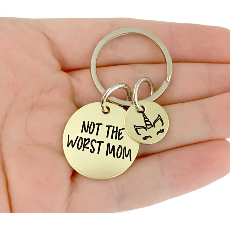 Mom Keychain - mum gifts from son