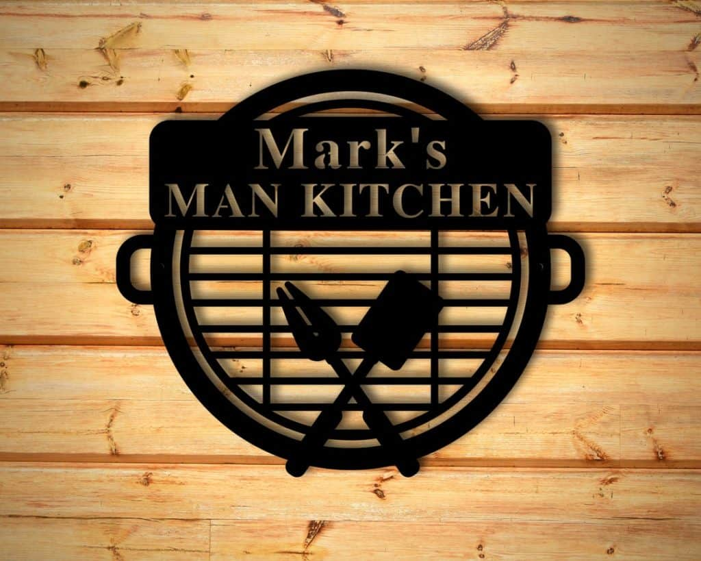 Personalized BBQ Sign, Grilling Gifts