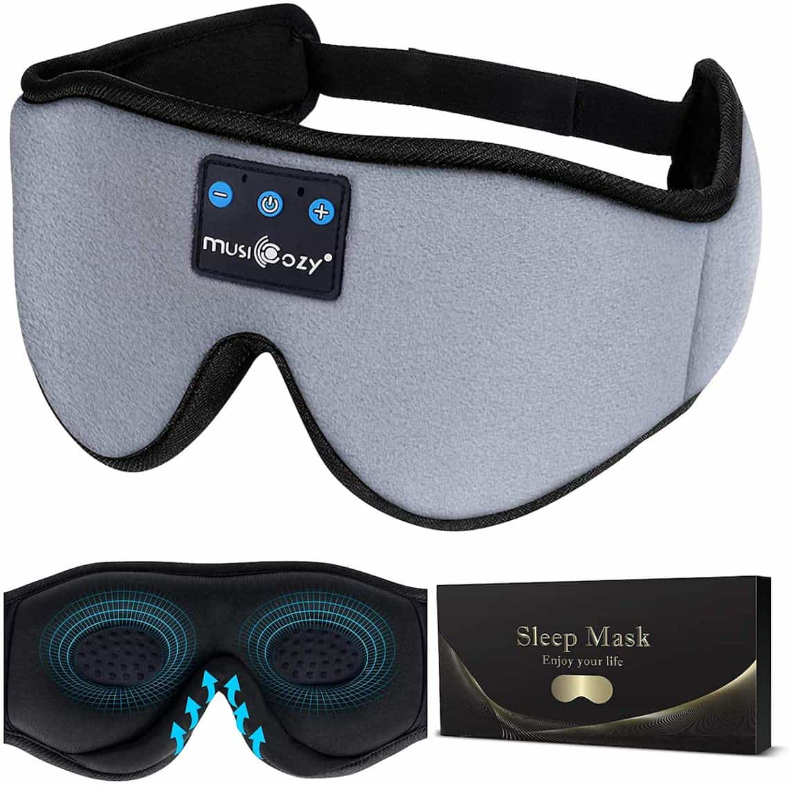 Tech Sleep Mask - a thoughtful mothers day gift for wife