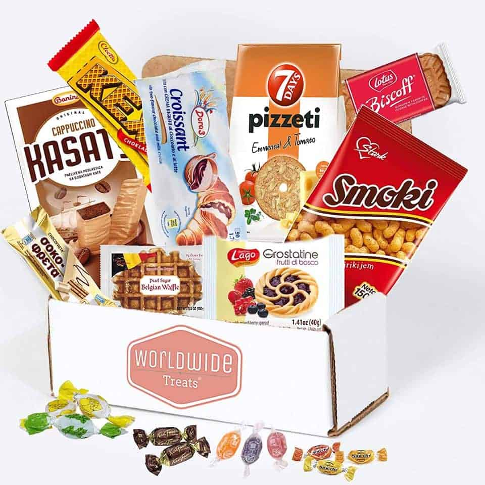 World Wide Snack Mix Package - things to get your new boyfriend